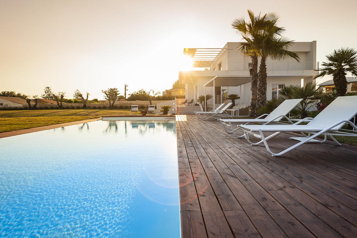 Ragusa Holiday villa Pool sea views