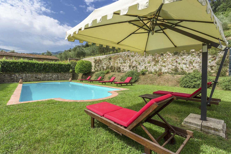 Outdoor Gardens Pool areas Lucca luxury wedding villa in Italy