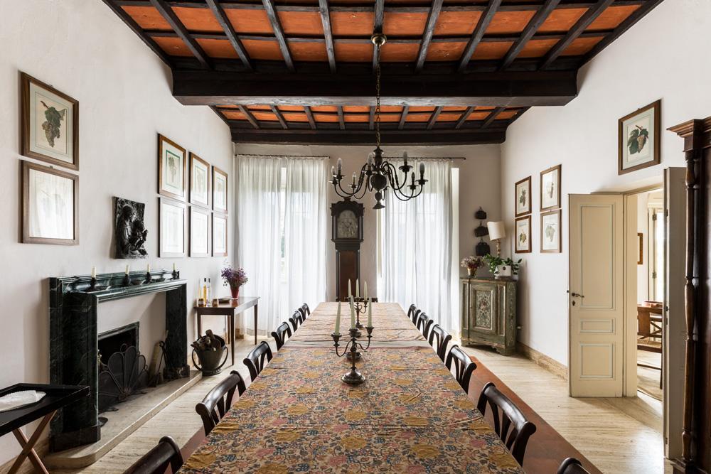 Wedding Villa Interior and dining