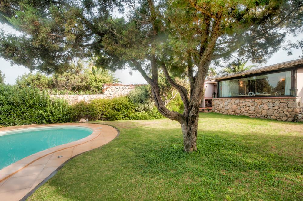 House garden pool luxury villa in Porto Cervo, Costa Smeralda.