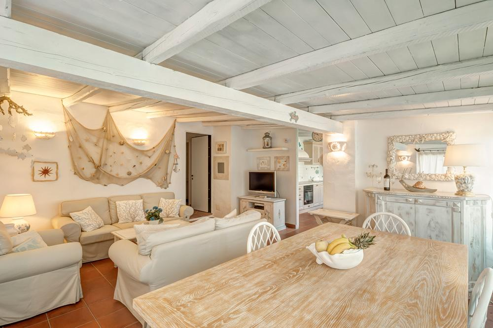 Villa interior living sofas