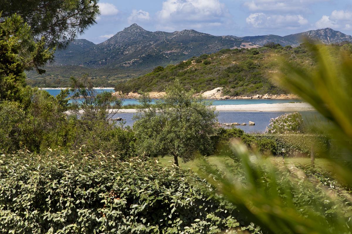views from villa in Sardinia