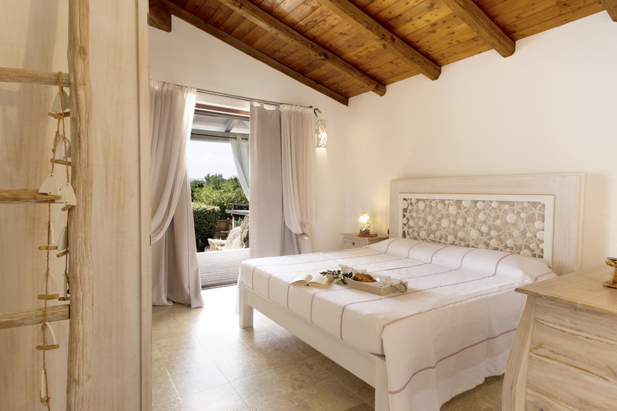 Double ensuite bedroom balcony sea views