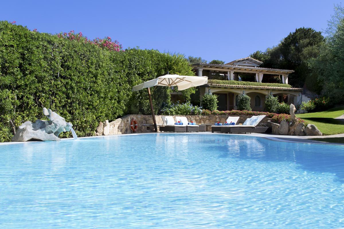Pool villa in Costa Smeralda