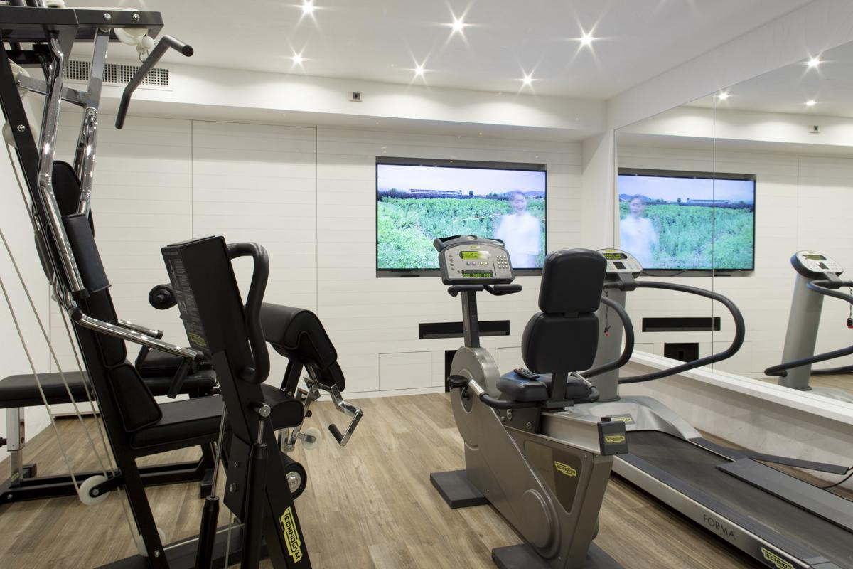 Gym Fitness room at the villa